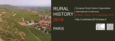 Call for Panels: Rural History 2019 in Paris